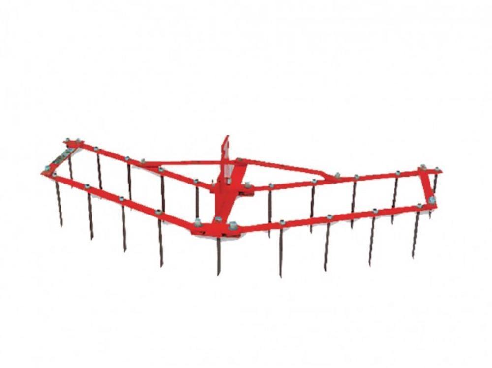 Brány hrebeňové ABR 354 nastaviteľné 90 cm