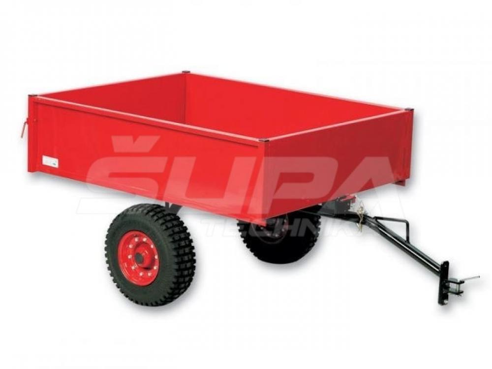 Vozík za traktorové kosačky SECO_Pro TR 220S červ