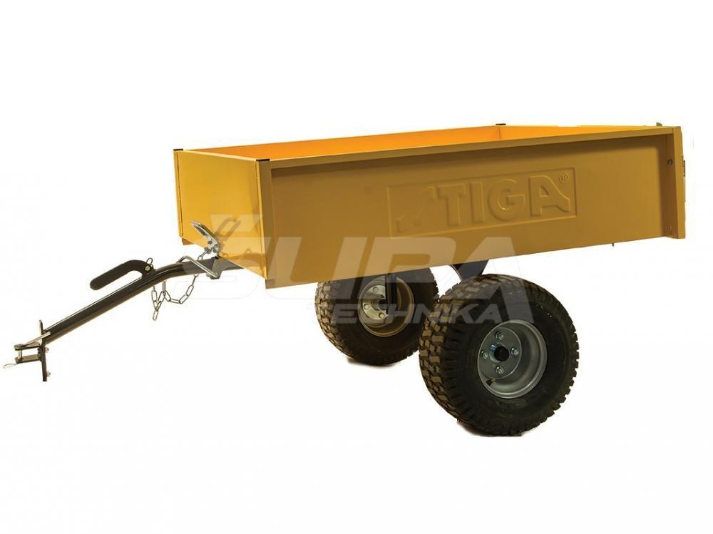 Vozík za traktorové kosačky STIGA_Pro TR 220S žltý